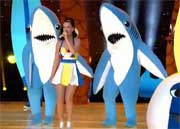 Katy Perry séduit au Super Bowl 2015.