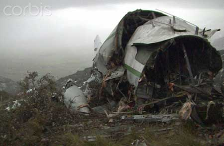 Photo 3 du crash de l'avion militaire en Algérie